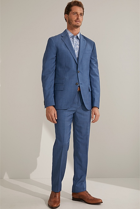 d99f98650 Textured Merino Wool Suit Pant