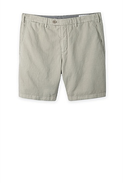 Modern Linen Cotton Textured Short