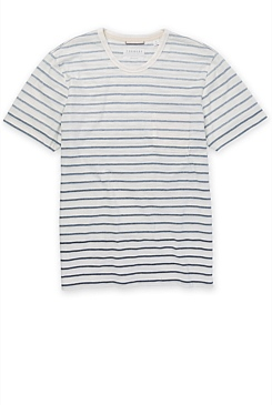 Ombre Marle Stripe Pima T-Shirt