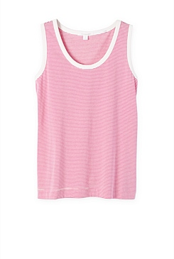 Organic Cotton Striped Tank