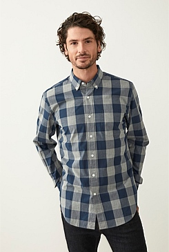 ce655ff6cc Oversized Gingham Cotton Shirt