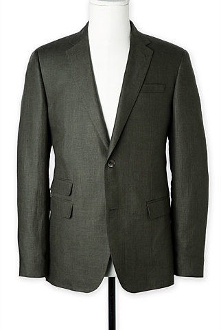 Modern Irish Linen Jacket