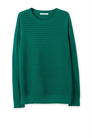 Pima Silk Stitch Knit