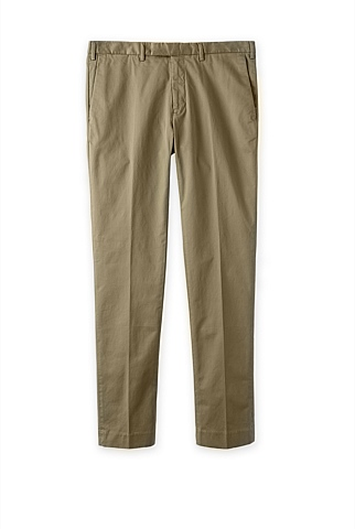 Modern Compact Twill Trouser