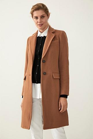 a762d56ffc Merino Wool Blend Coat