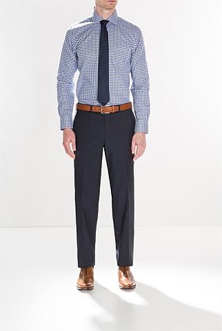 Modern Diffused Gingham Shirt
