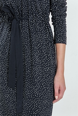 Abstract Spot Dress
