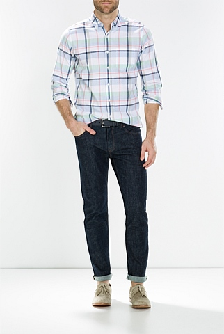 Bold Multi Checked Shirt
