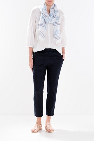 Linen Pull on Pant