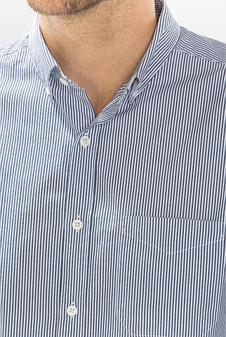 Seersucker Tonal Stripe Shirt