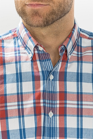 Bold Madras Checked Shirt