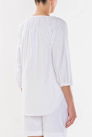 Relaxed Clean Cotton Blouse
