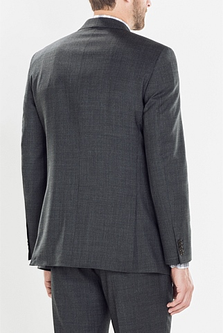Classic Geometric Textured Jacket