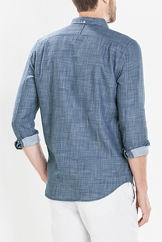 Textured Double Weave Shirt