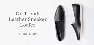 On Trend: Leather Sneaker Loafer - Shop Now