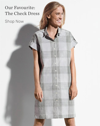 Our Favourite: The Check Dress - Shop Now