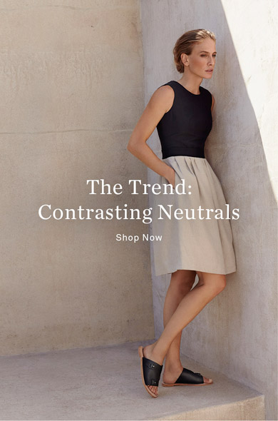 The Trend: Contrasting Neutrals - Shop Now