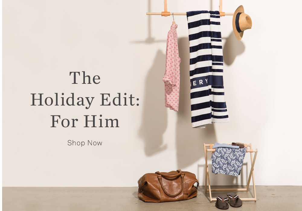 The Holiday Edit: For Him - Shop Now