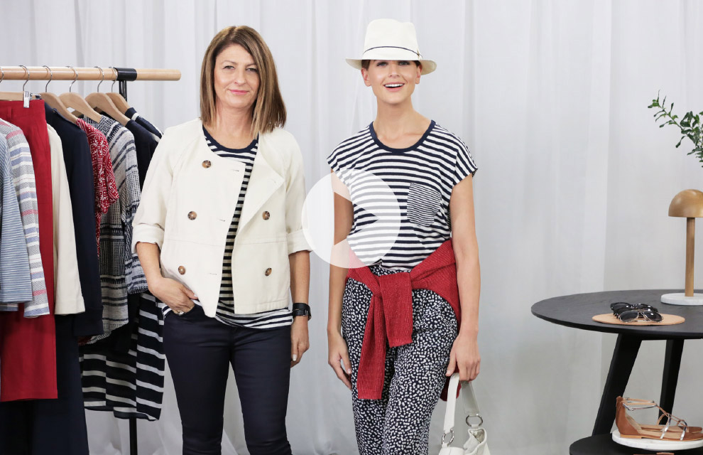 The Styling Studio - How to Wear The Striped Linen T-Shirt