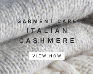 Garment Care: Italian Cashmere - View Now