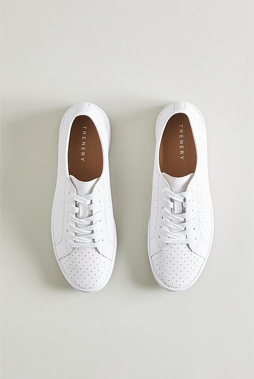 Lia Micro-Perforated Sneaker | Sneakers